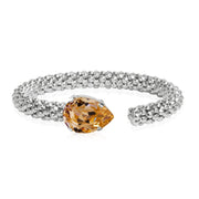 Caroline Svedbom - Classic Rope Bracelet Light Peach Rhodium