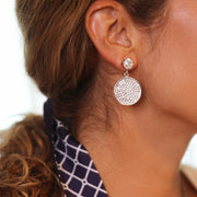 Chloe Earrings / Moonlight