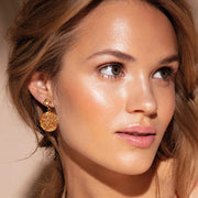 Chloe Earrings / Golden Shadow