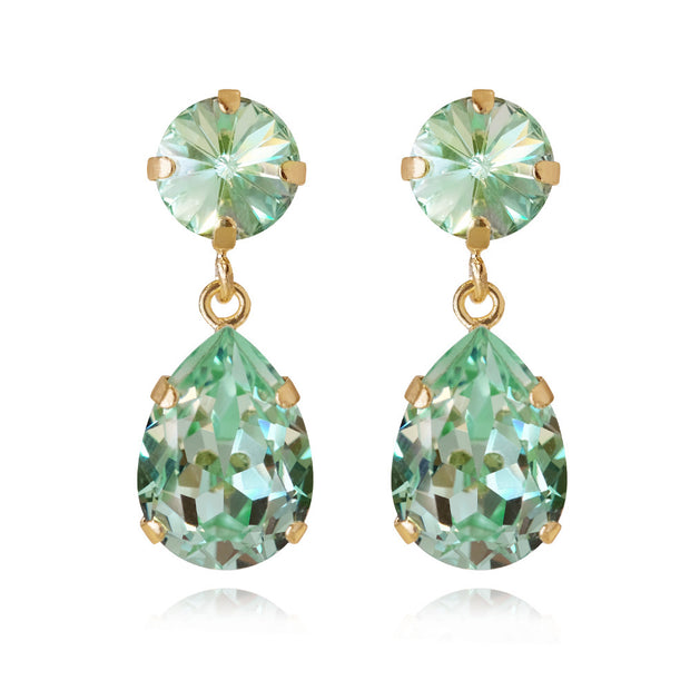 Classic Drop Earrings / Chrysolite