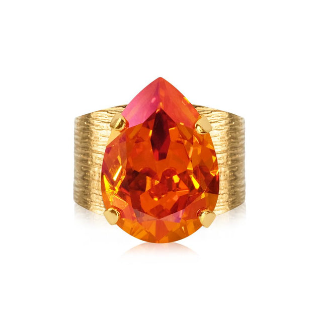 Caroline Svedbom - Classic Drop Ring Astral Pink Gold