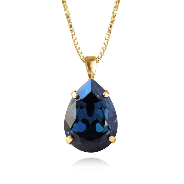 Caroline Svedbom - Classic Drop Necklace Montana Gold