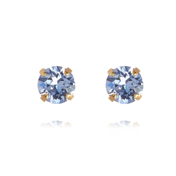 18k gold plated earrings with swarovski crystals