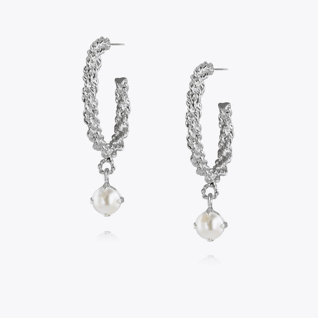 Elena Earrings / Pearl