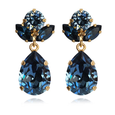 Isadora Earrings / Denim Blue