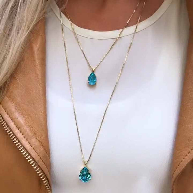 Mini Drop Necklace / Laguna Delite