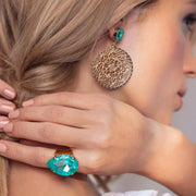 Alexandra Earrings / Laguna Delite