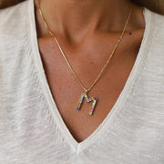 Letter Necklace / M