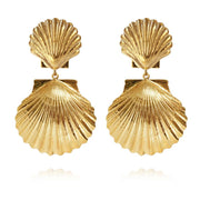 Caroline Svedbom - Mermaid Earrings Gold