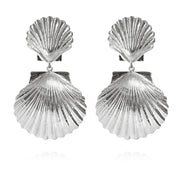 Caroline Svedbom - Mermaid Earrings Rhodium