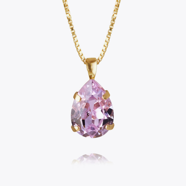 Mini Drop Necklace / Violet