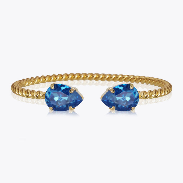Caroline Svedbom - Mini Drop Bracelet Royal Blue Delite Gold