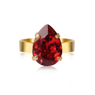 Caroline Svedbom - Mini Drop Ring Scarlet Gold
