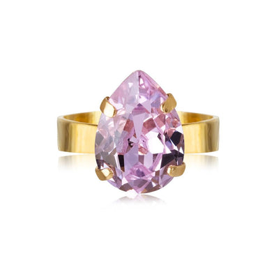 Caroline Svedbom - Mini Drop Ring Violet Gold