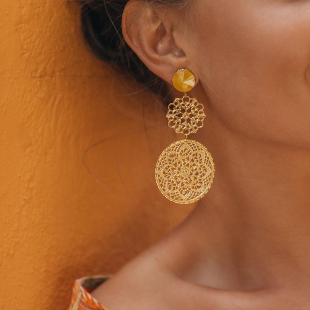Maxime Earrings / Buttercup
