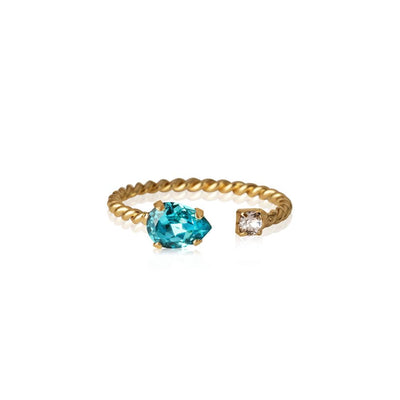 Caroline Svedbom - Nani Ring Light Turquoise Gold
