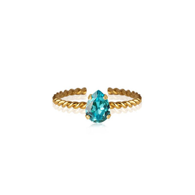 Caroline Svedbom - Niki Ring Light Turquoise Gold