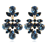 Selene Earrings / Denim Blue + Montana