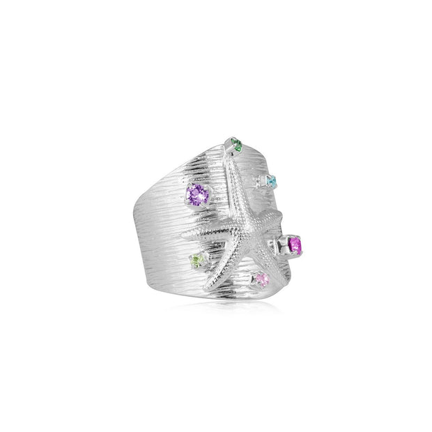Caroline Svedbom - Nicole Ring with Swarovski Crystal