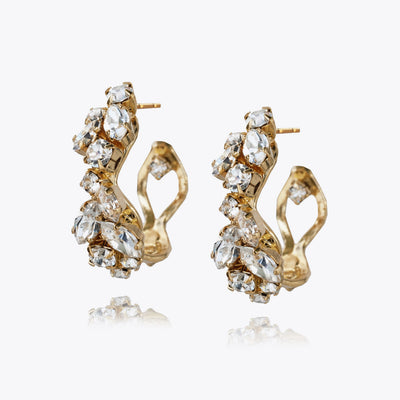 Stella Earrings / Crystal
