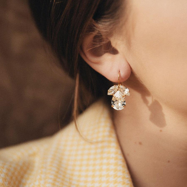 Timo Earrings / Crystal