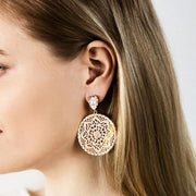 Alexandra Earrings / Crystal