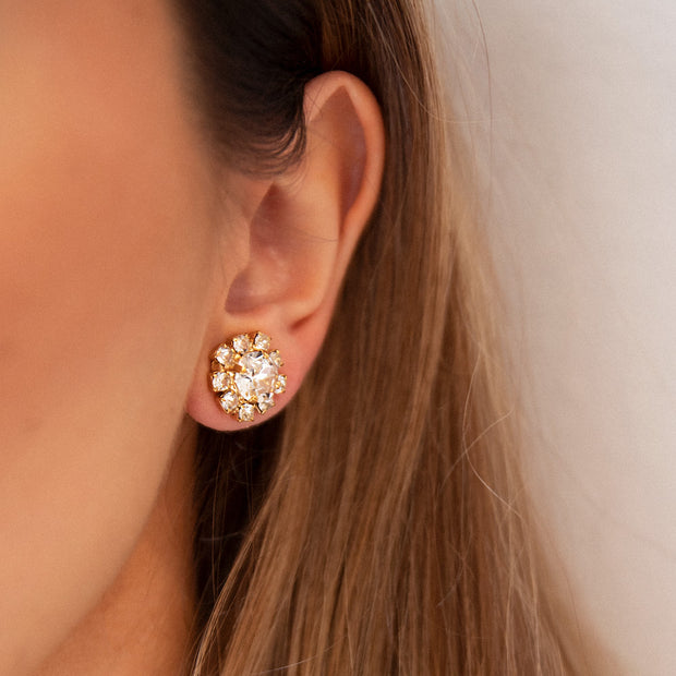 Aello Earrings / Crystal
