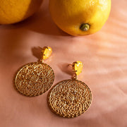 Alexandra Earrings / Buttercup