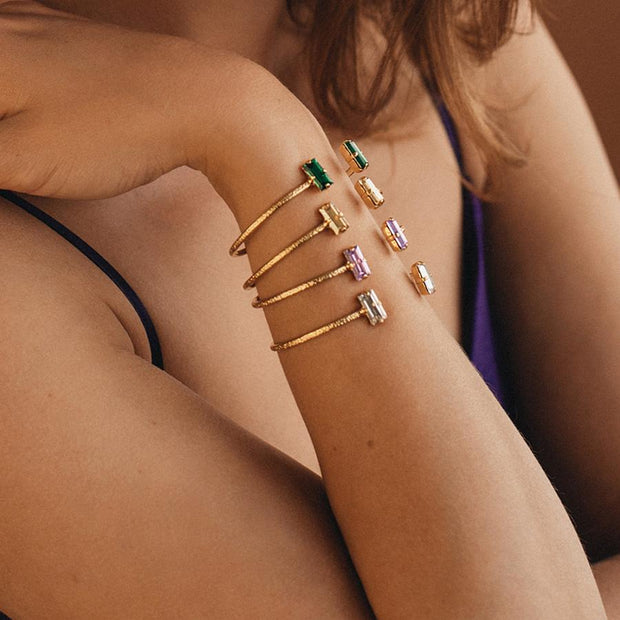 Baguette Bracelet / Golden Shadow