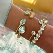 Gia Stretch Bracelet / Chrysolite