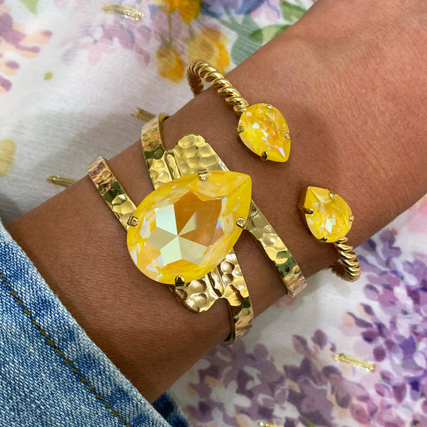 Perfect Drop Bangle/ Sunshine Delite