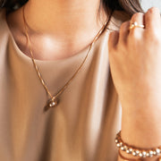 Classic Petite Necklace / Bronze