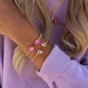 Mini Drop Bracelet / Lotus Pink Delite