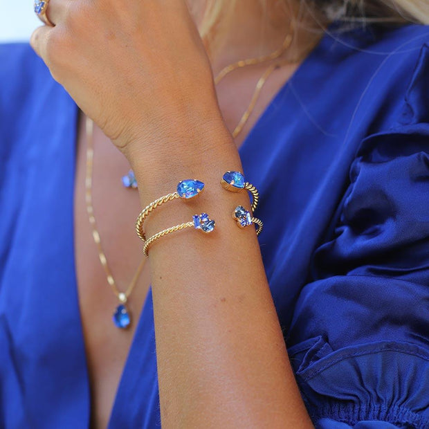 Mini Drop Bracelet / Royal Blue Delite