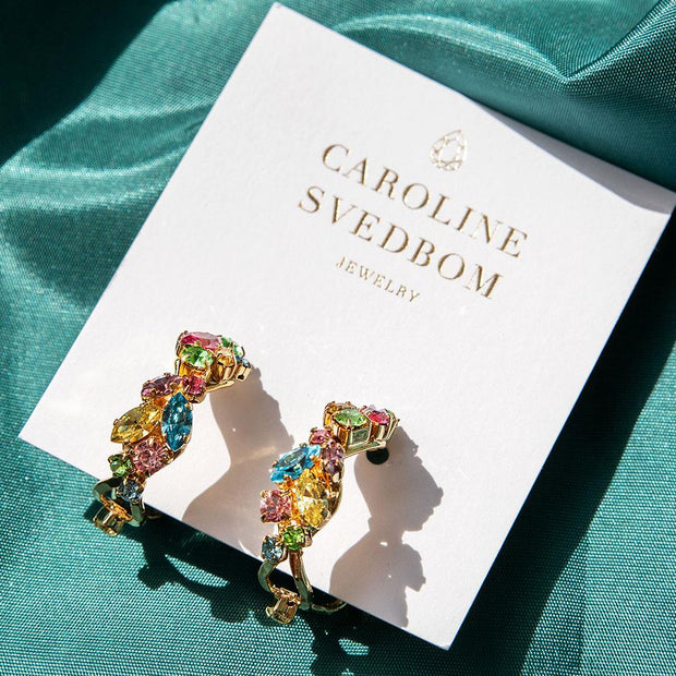 Stella Earrings / Rainbow Combo