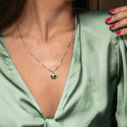 Isa Necklace / Green Combo