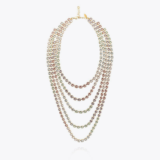 Leone Necklace / Pastel Combo