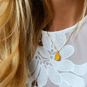 Mini Drop Necklace / Buttercup