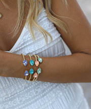 Mini Drop Bracelet / Peach Delite