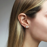 Classic Stud Earrings / Crystal