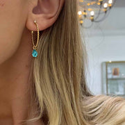 Nani Earrings / Light Turquoise