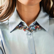 Noora Necklace / Blue and Pink Combo