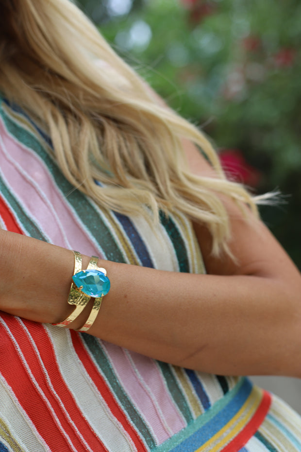 Perfect Drop Bangle / Laguna Delite
