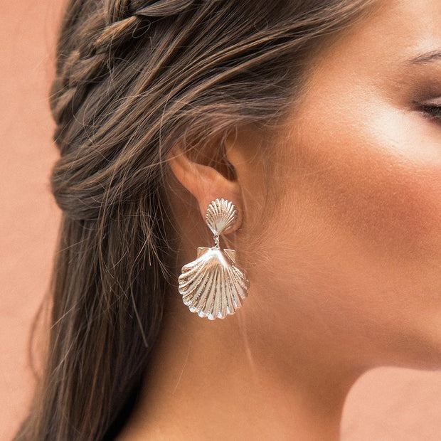 Shell Mermaid Earrings