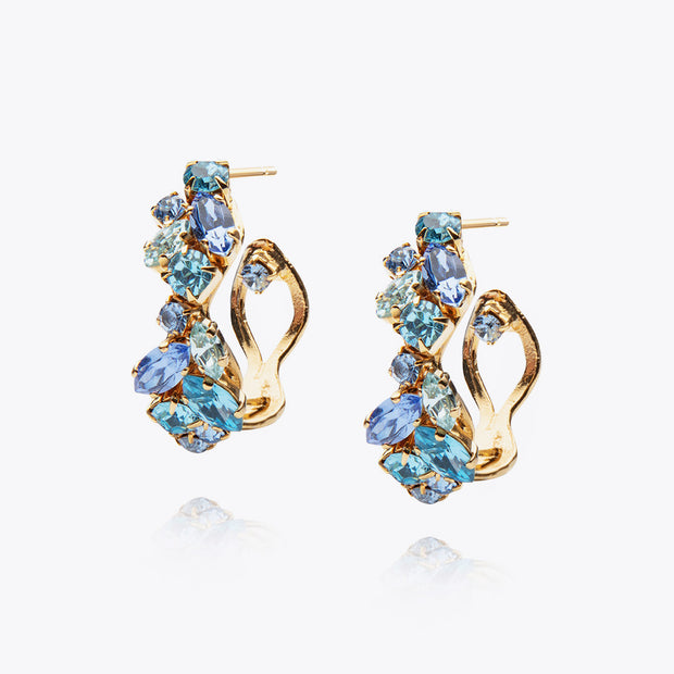 Stella Earrings / Blue Combo