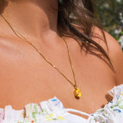 Mini Drop Necklace / Sunshine Delite