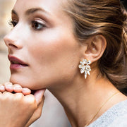 Talia Earrings / Crystal