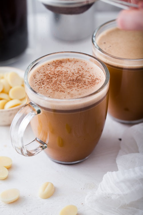 Bulletproof Coffee with Cacao Butter