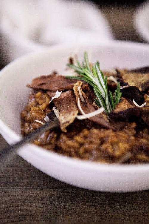 Cacao and Porcini Risotto