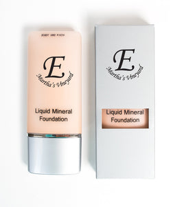 Liquid Mineral Foundation,  with natural SPF 15